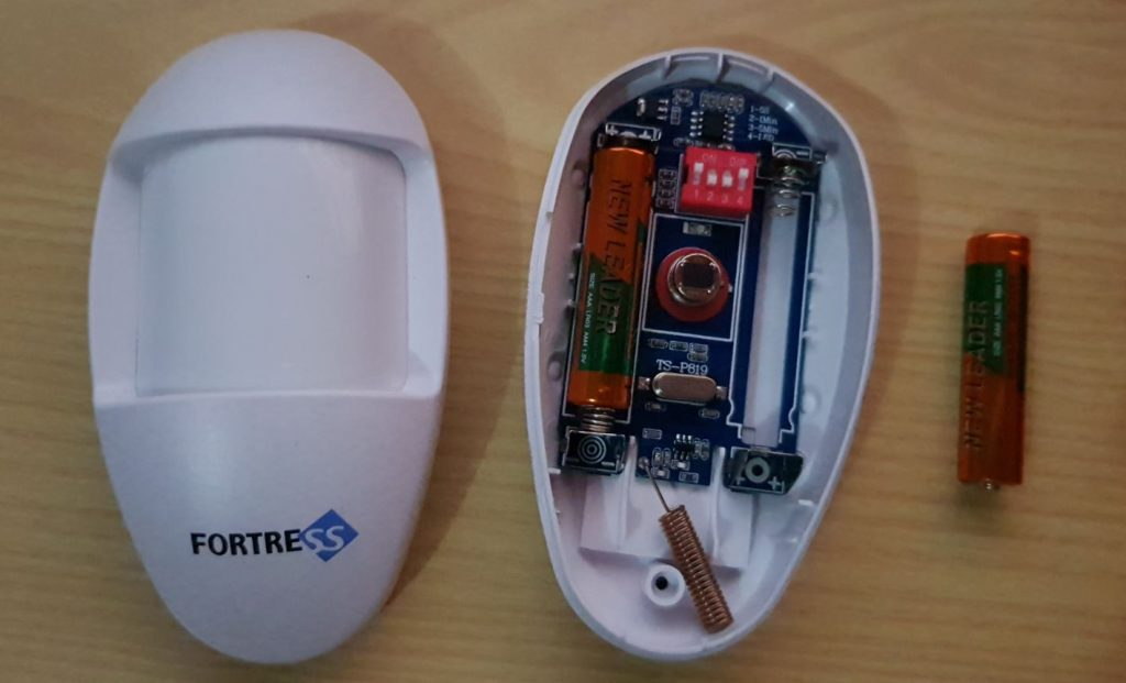 How to Change Batteries in Fortress Security Systems Window, Door and motion sensors.