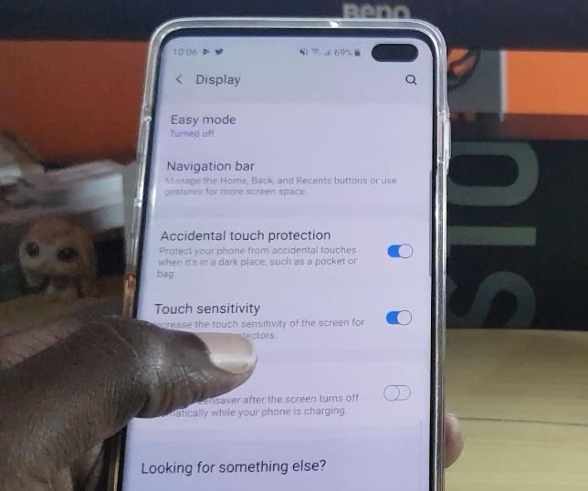 Galaxy S10 Touchscreen Sensitivity Issue Fix
