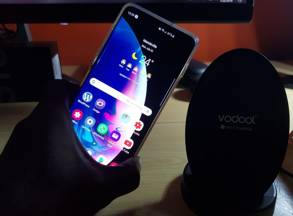 Vodool Fast Wireless Qi-Certified Wireless Charging Stand