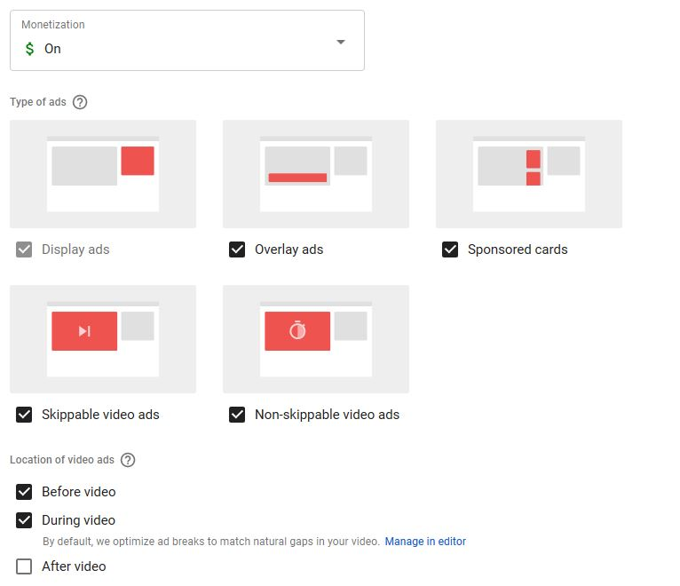 Find All your Old settings on New YouTube Studio