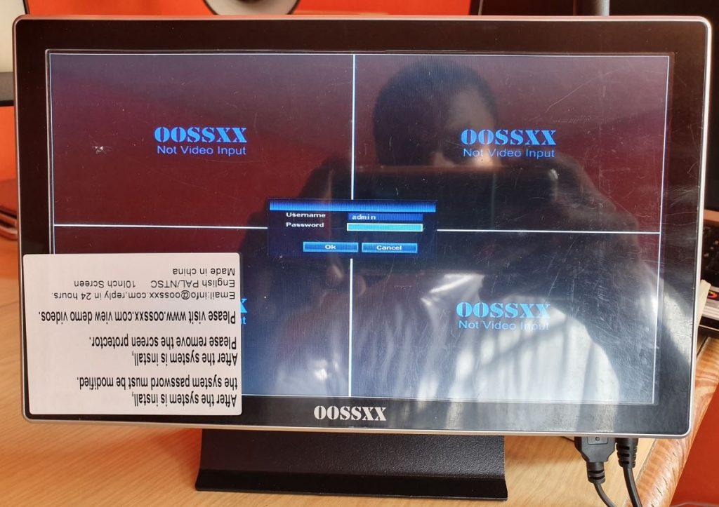 OOSSXX Professional Wireless Security Camera