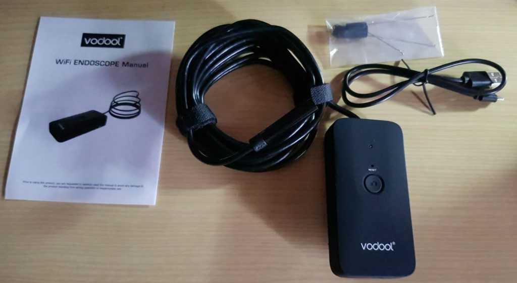 Vodool WiFi Endoscope