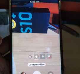 Get and Use Live Focus Video Galaxy S10