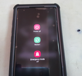 Two (2) Ways to Power off the Galaxy Note 10