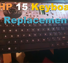 How to Replace the Keyboard on a HP 15 Laptop