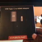KINSOUND USB Type C to HDMI Adapter Cable 4K Review
