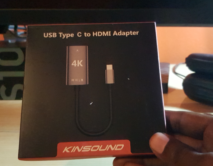 KINSOUND USB Type C to HDMI Adapter Cable 4K