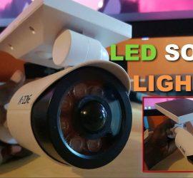 A-Zone LED Solar Motion Sensor Lamp
