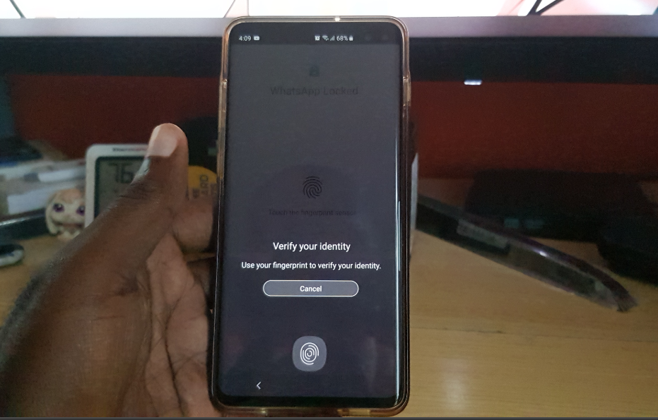 How to Activate Whatsapp Official Built in Fingerprint lock