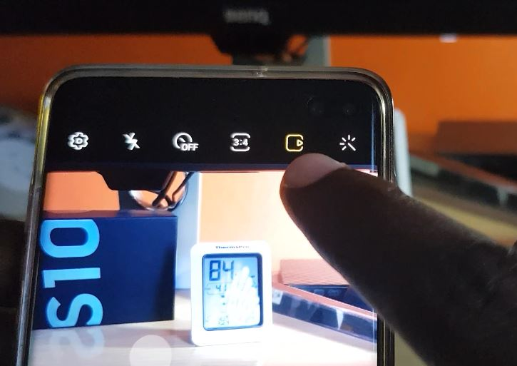 Pictures being Saved as Motion Photo Galaxy S10