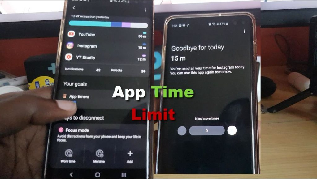 How to Place a Time Limit on Apps Android 10