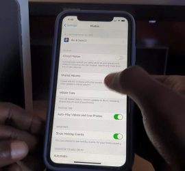 Enable or Disable iCloud Photos to Backup or Sharing