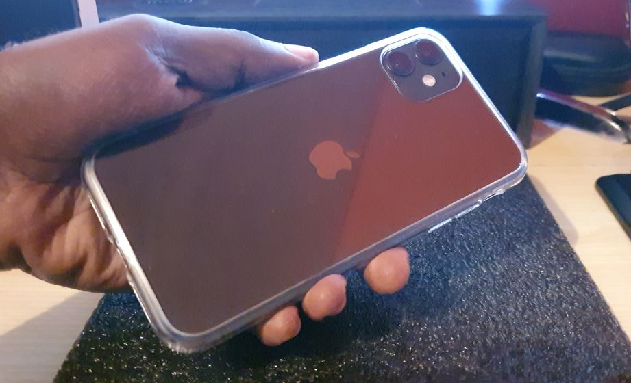 OULUOQI Shockproof Clear Case for iPhone 11