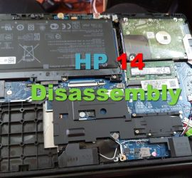 HP 14 CK0018la Disassembly