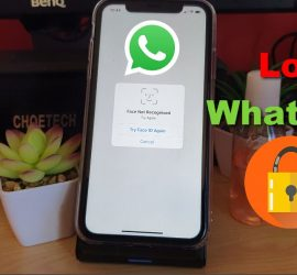 Lock Whatsapp on iPhone without any App