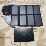 X-Dragon Solar Charger for Laptops, Smartphones and more