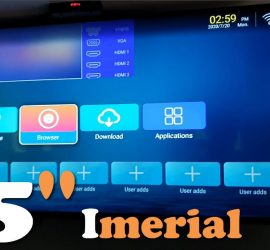 IMPERIAL IMP70 Mouse 8GB SMT BT Android 4K Smart TV