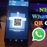 Whatsapp New Feature QR Code