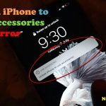 Unlock iPhone to use Accessories Fix