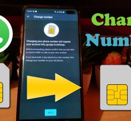How to Change your Number in Whatsapp