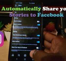 Automatically Share Instagram Stories to Facebook