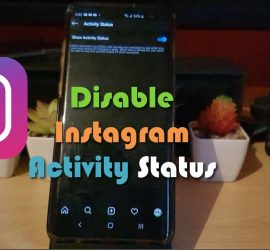 How to Turn off Instagram Activity Status