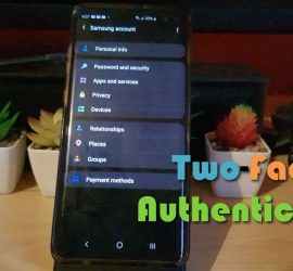 How to turn on Two-Factor Authentication Samsung Account