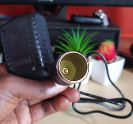 car cigarette lighter to wall outlet converter