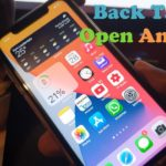 How to use back Tap to Open An App