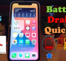 iPhone Battery Draining Fast IOS 14 Fix