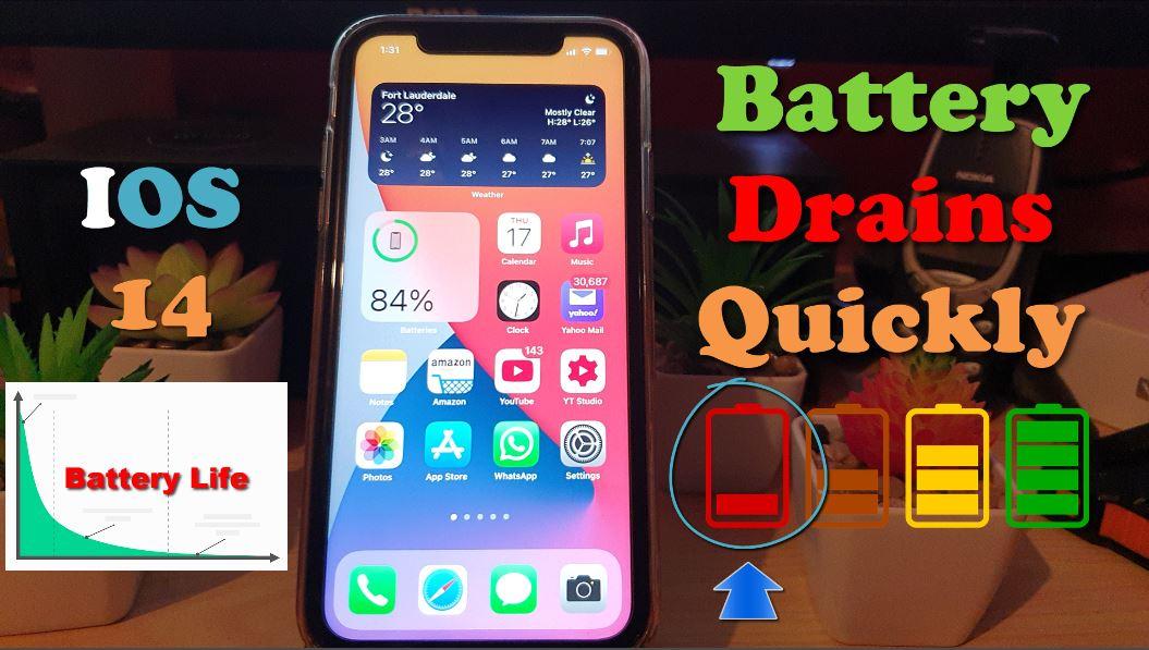 مسئله تخلیه باتری iOS 14 را به سرعت در iPhone و iPad برطرف کنید