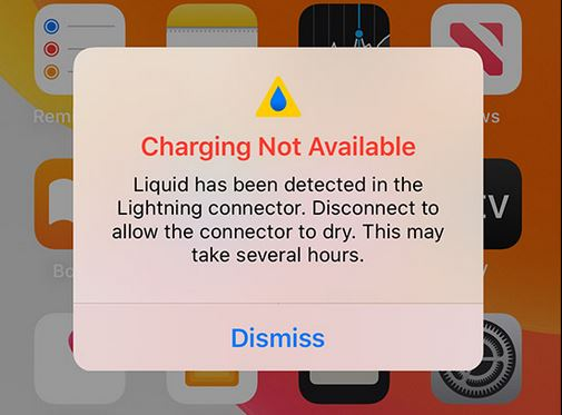 iPhone Charging not available