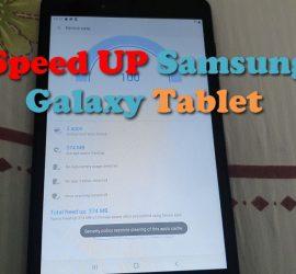 How to Speedup Samsung Galaxy Tablet