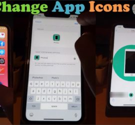 How to Change APP icons on iPhone iOS 14