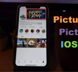How to use Picture in Picture IOS 14