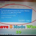 Remove S Mode Windows 10