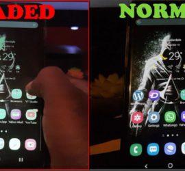 Samsung Galaxy Display Looks Faded Problem Fix