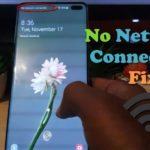 No Network Connection Fix