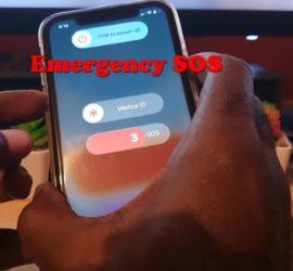 Emergency SOS iPhone