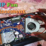 HP Laptop Fan Replacement Tutorial