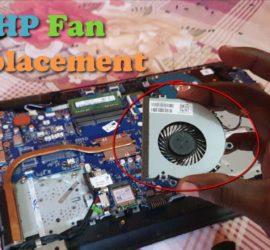 HP Laptop Fan Replacement Tutorial