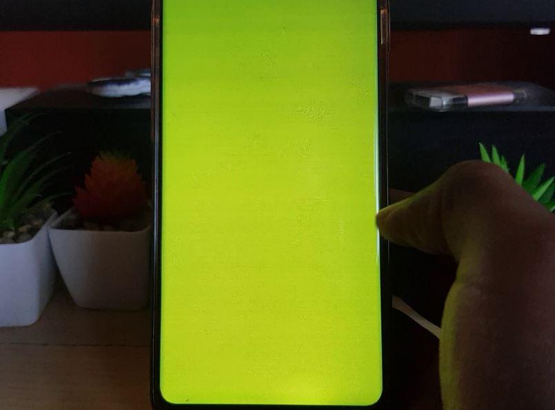 S10 Display has Green Tint Fix