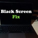 Macbook Black Screen Fix