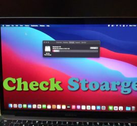 How to Check Storage on MacBook Air or Pro
