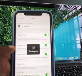 How to Turn iCloud Photos back on