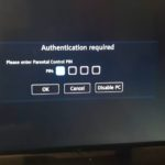 Authentication is Required Cable Box Fix