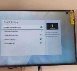 How to Turn on Eco Mode on Samsung Smart TV