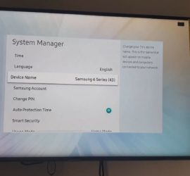 How to Change Device Name on Samsung Smart TV
