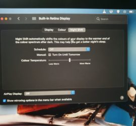 How to Enable Blue Light Filter or Night Shift on Your Macbook